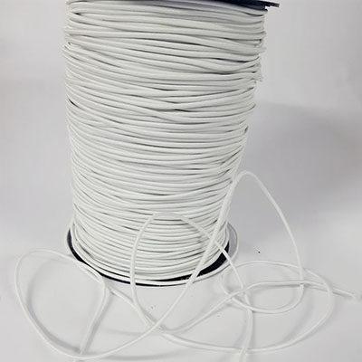 Balta elastinė apvali guma