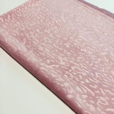 Pelenų rožės soft veliūras su leopardo raštu