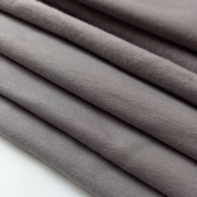 Vidutinio tamsumo pilka pūkis su elastanu