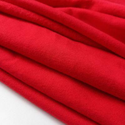 Raudonas pūkis su elastanu