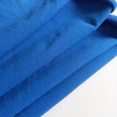 Skaisti mėlyna pūkis su elastanu
