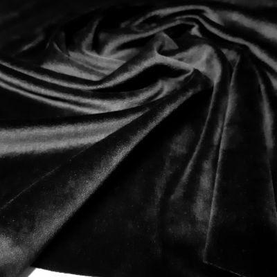 Juodas soft veliūras