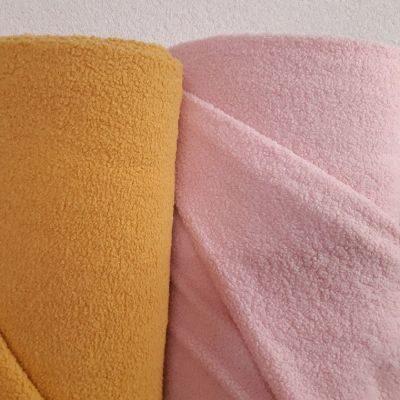 Teddy trikotažas šviesi rožinė spalva