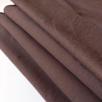 Dusty brown pūkis su elastanu