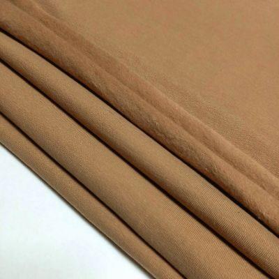 Smėlio spalvos pūkis su elastanu 270gr