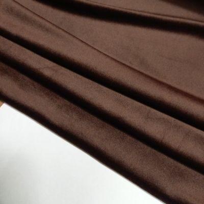 Šokolado spalvos soft veliūras