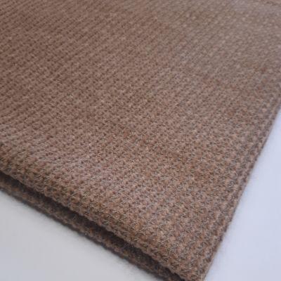 Channel knitting metalic dark sand color