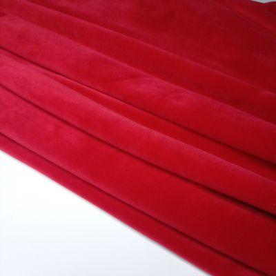 Soft veliūras tamsi raudona