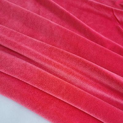 Red coral soft veliūras