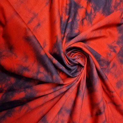 Batika raudona džersis