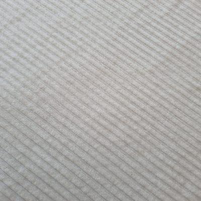 Pieno baltumo džersis velvetas