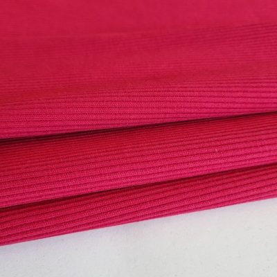 Dark pink rib 300gr
